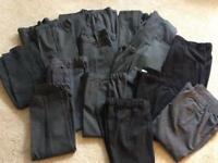 Huge bundle of boys school trousers ( 17 x trousers)