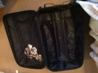 Travelling suite case large / big size used but useable