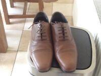 Men's shoes : brown size 9