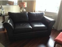 2 seater leather sofa.