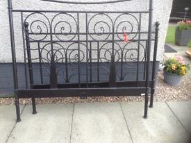 Double bed frame,metal,£45.00