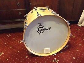 Gretsch Jasper 22 bass drum