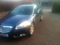 Private Hire Taxi for Rent Vauxhall Insignia 2011 2.0 Diesel
