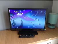 "TOSHIBA 22"" LED TV / DVD COMBI FULL HD & FREEVIEW"