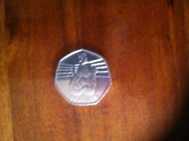50 PENCE COIN 2011 COMMONWEALTH GAMES