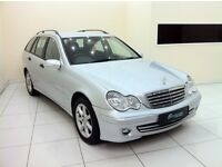 Mercedes Benz C Class 1.8 C180 Kompressor-12 Month MOT+Warranty-Timing Chain Done-Full Service Hist