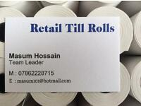Just Eat, Hungry House, Credit Card, Pay Zone, Machine Rolls 57x50 mm 20 Rolls x 1 Box=20 Rolls