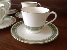 "ROYAL DOULTON ""Rondelay"" Cups and Saucers"