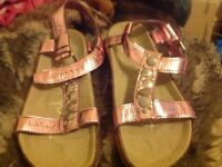 Girls Brand new Ted Baker sandals, size 1, reduced to £9
