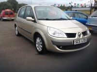 Renault megane scenic dynamique VVT 1.6 57 plate only 77000 miles FSH (7 stamps) MOT ONE YEAR