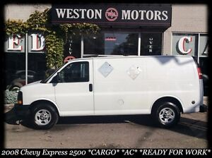 2008 Chevrolet Express *2500 *CARGO *AC *READY FOR WORK