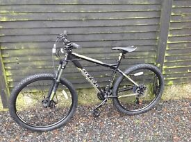 Grey Carrera mountain bike