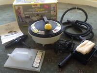 Combi steam cleaner set