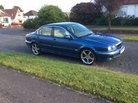 2002 Jaguar X Type. MOT Dec.97k miles. Starts and drives ok except ABS light is on. COMPLETE BARGAIN