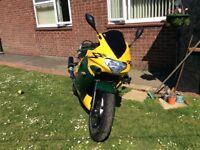 Triumph tt600 sports bike