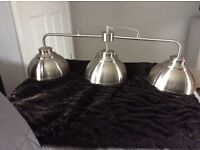 Industrial 3 way over table light