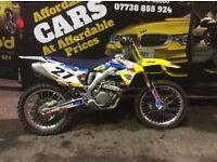 Rmz 450 2012 efi very very clean bike fresh in today
