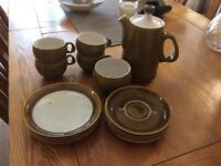 Langley retro coffee set