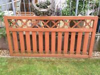 2 fence panels for sale