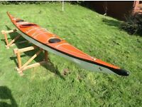 Sea kayak fiberglass