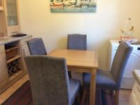 4 Chairs & Dining Table set