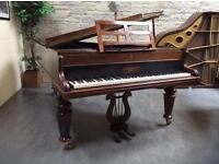 ** CLEARANCE SALE ** 1874 John Broadwood & Sons, London Boudoir Piano - CAN DELIVER