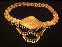 As new , full and complete BELT, Gram180, 21 22 CT gold Jewellery