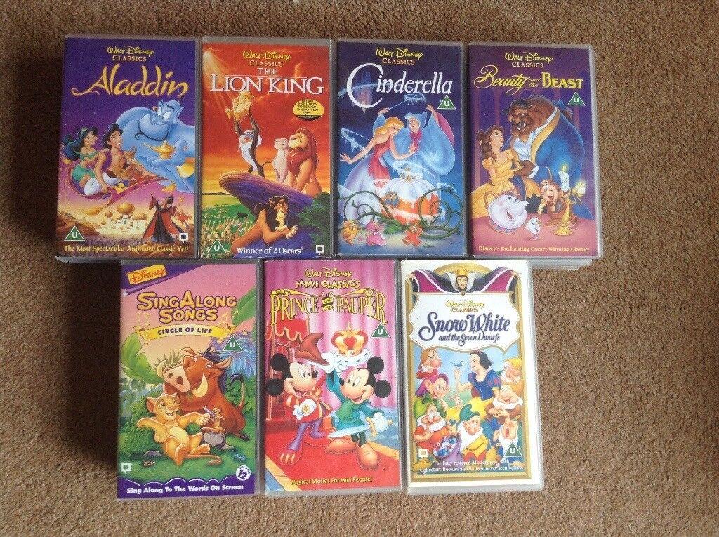 Disney VHS tapes for sale | in Liberton, Edinburgh | Gumtree