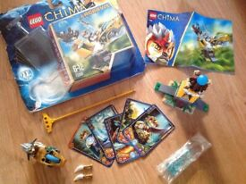 LEGO LEGENDS OF CHIMA 70108 toy set with mini figure LAGRAVIS