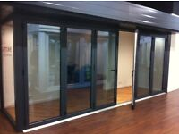 Warmcore Aluminium Bi Folding Doors from £1495.00 covering all the south of England