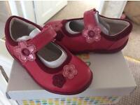 BNIB girls clarks shoes