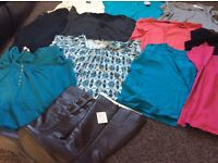 Ladies bundle mainly size 22 and a brand new pair of size 8 boots
