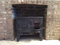Free cast iron stove. Original Victorian model