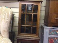 Solid oak cupboard