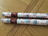 Christmas wrapping paper - NEW and wrapped