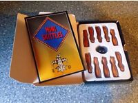HOYLE'S FAMOUS MINI SKITTLES WITH INSTRUCTION BOOKLET-NEW NOT SEALED