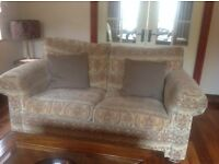 Two piece suite sofa two seater and three seater
