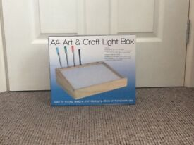 A4 art and craft light box