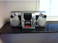 AIWA Hi-Fi System, 3 CD changer and s
