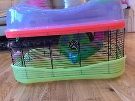 Used Imac Hamster Fantasy Cage with accessories