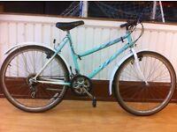 "Ladies Mountainbike - fully refurbished 18"" Enmelle Arizona - 18-speed, mudguards, 26"" wheels"