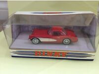 Chevrolet Corvette 1956 matchbox die cast model car Matchbox, Dinky collection in red