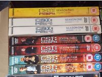 DVD crime scene investigation seasons 1, 3 & 4