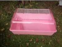New Small Indoor Guinea Pig Hutch (Pink)