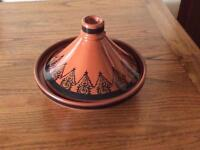 Small Tagine. Lovely Pattern. Unused.