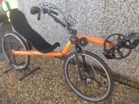 Recumbent Bicycle - Raptobike