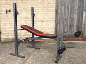 Weider 190 TC Foldable Bench (Delivery Available)