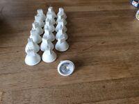 18 MR11 35mm 2w LED 12v 6000k daylight bulbs with GU4 base