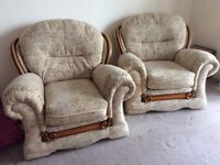 Two Armchairs. Good condition.