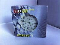 DVR ANALOG SPY CLOCK